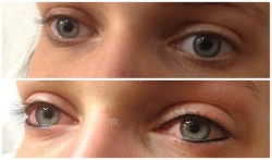 le studio par sabrina maquillage semi permanent nouvelle g  n  ration les yeux avant apr  s