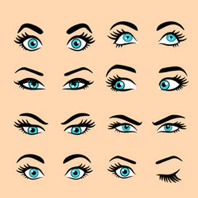 Les typologies de sourcils, et ce que nous dit leur forme sur notre personnalité.